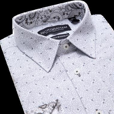 Lay down shot of white shirt