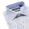 Lay down of white shirt