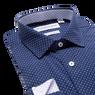 Lay down of navy shirt