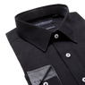 Lay down of black shirt