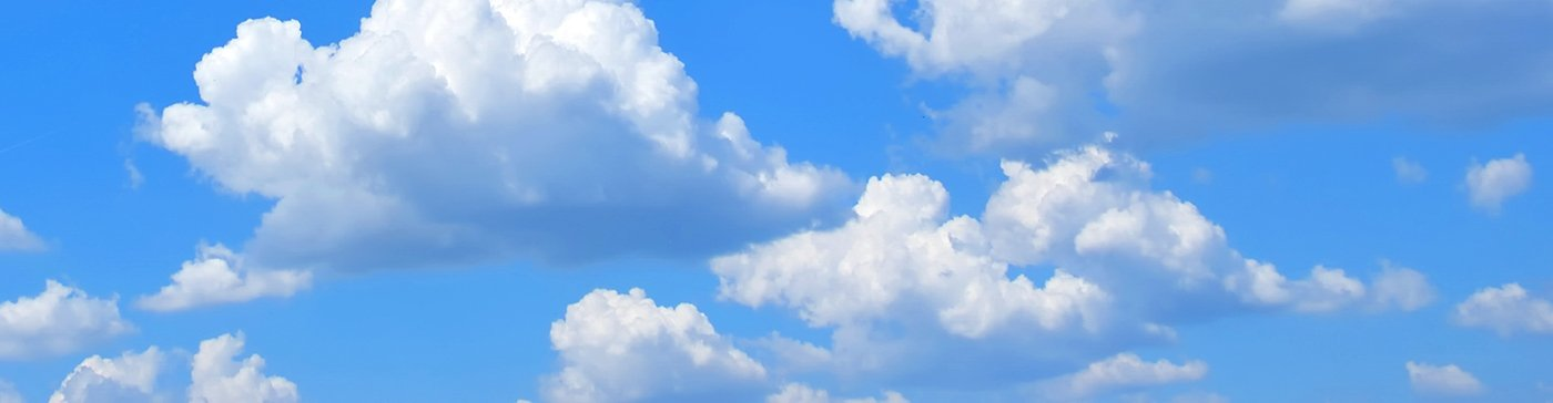 Clouds header
