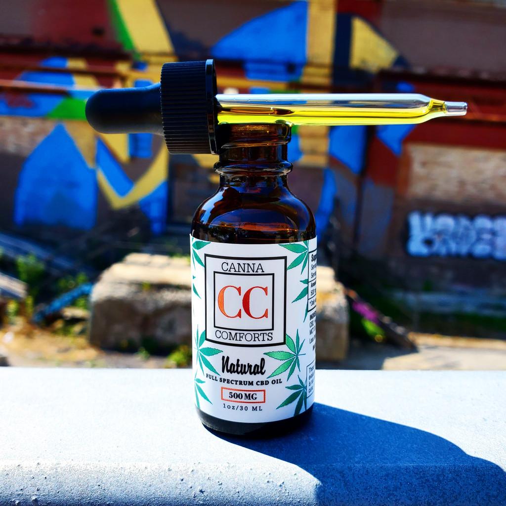 Full Spectrum Hemp CBD Oil, All Natural Made in the USA