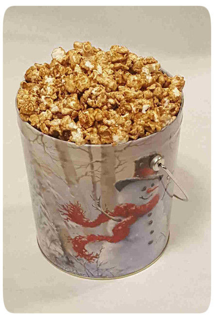 Gourmet Flavored Karmelkorn Popcorn Holiday Gift Tin
