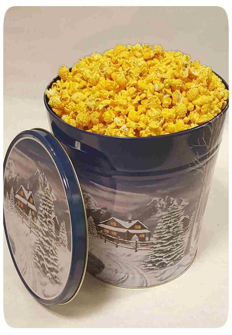 Gourmet Flavored Karmelkorn Popcorn Holiday Gift Tins