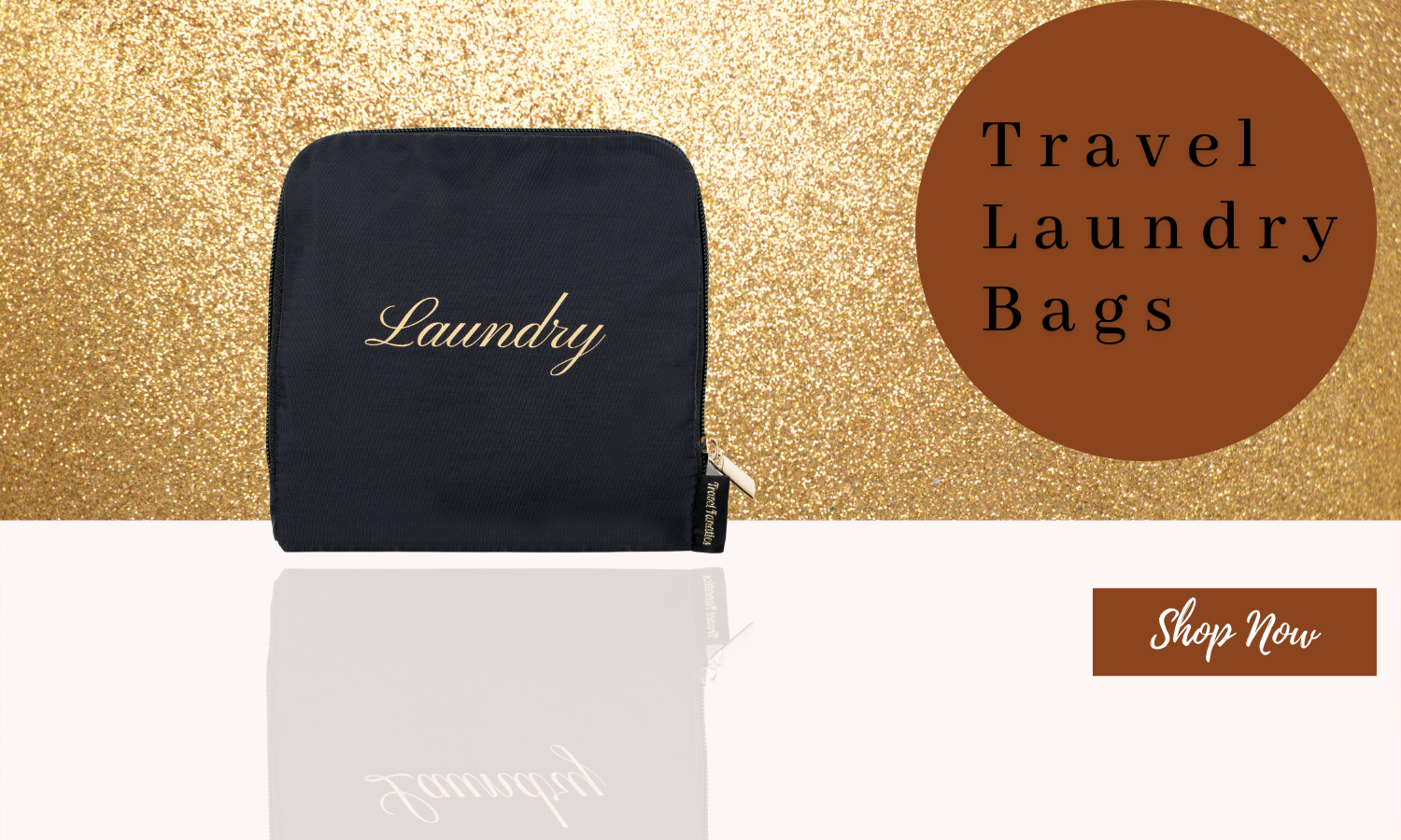 Travel Fanatics Travel Essentials Waterproof Travel Laundry Bag for Dirty Clothes Bag for Traveling with Zipper and Drawstring