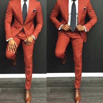 QueenLine 2018 Latest Coat Pant Designs Burgundy Velvet Smoking Men Suit Jacket Slim Fit Tuxedo Custom Blazer Groom Prom Suits Masculino