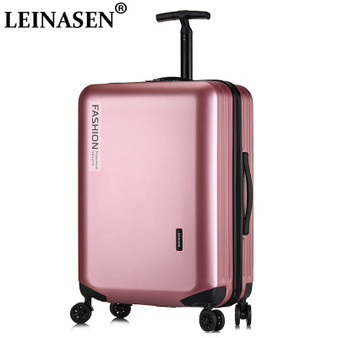 "QueenLine 18""20""26"" inch Zipper suitcase on wheels rolling luggage carry on luggage set woman travel suitcases with wheels free shipping"