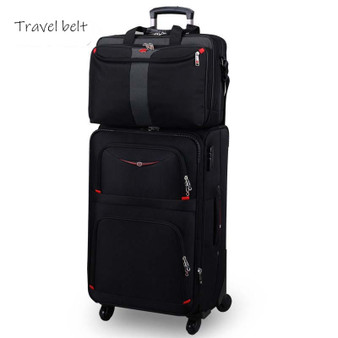 QueenLine high quality Resistance to falling Wear resistant waterproof 28 inch Rolling Luggage Sets Spinner Men Business Suitcase