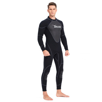 QueenLine  1.5mm Neoprene WetSuit Scuba Diving Suit Surf Spearfishing One-Piece and Close Body Swimwear Snorkeling Prevent Jellyfish suit