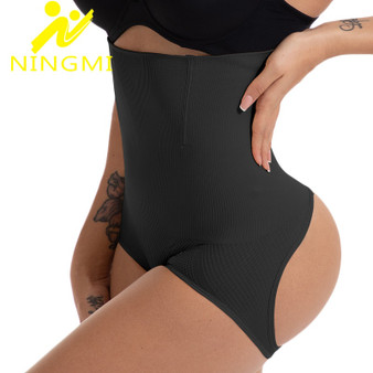 QueenLine NINGMI Slimming Body Shaper Waist Trainer Bodysuit Women Push Up Butt Lifter Strap Waist Cincher Tummy Control Panties Shapewear