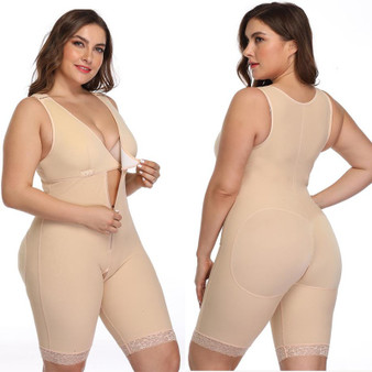 QueenLine Plus Size Sexy Women Shapewear Bodysuit Modeling Strap Bodysuits Slimming Shaper Corset Waist Trainer Butt Lifter Underwear