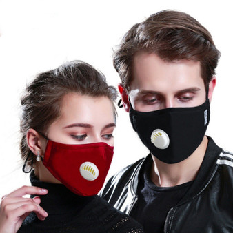 QueenLine 1pc Fashionable Non-disposable Dust-proof Breathable Masks For Univex