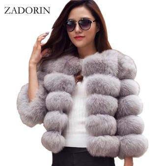 QueenLine S-3XL Mink Coats Women 2020 Winter Top Fashion Pink FAUX Fur Coat Elegant Thick Warm Outerwear Fake Fur Jacket Chaquetas Mujer