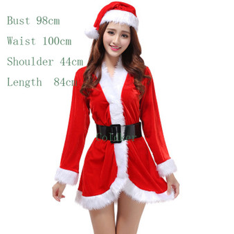 QueenLine  Cosplay Costumes Halloween Sexy Santa Outfit Mrs Claus Costume Adult Christmas Fancy Dress