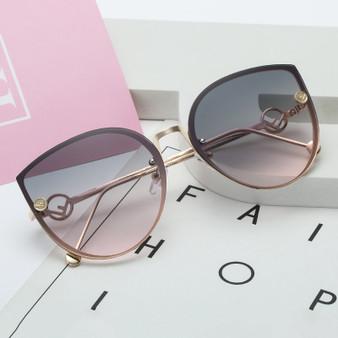 QueenLine Brand Designer Oversize Square Sunglasses Men Women Sun Glasses Male  Superstar Luxury  Female Shades UV400 (2)