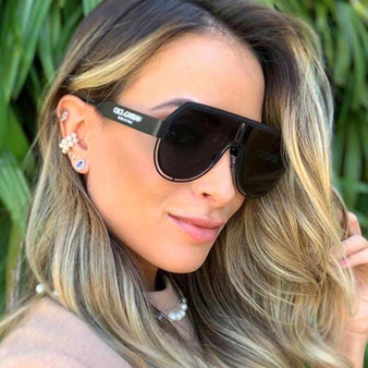 QueenLine 2020 New Cool Star Metal Punk Pilot Sunglasses Women Vintage Steampunk Sun Glasses Men Oculos Feminino Lentes Gafas De Sol UV400