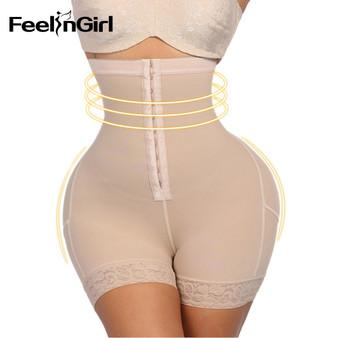 QueenLine  FeelinGirl Women High Waist Control Panties Body Shaper Slimming Tummy Underwear Girdle Panty Shapers Butt Lifter Hip Enhancer