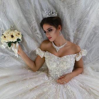 QueenLine Sexy Wedding Dress Real Photos Hochzeit Straps Wedding Dress 2022 New