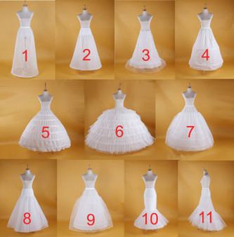 QueenLine Wedding Petticoat Bridal Hoop Crinoline Prom Underskirt Fancy Skirt Slip Petticoats
