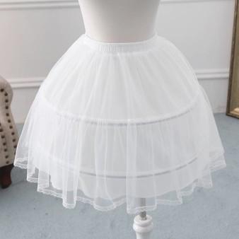 QueenLine New 2 Hoop Adjustable Size Flower Girl dress Children Little Kids Underskirt Wedding Crinoline Petticoat Waist 56 64 cm|Petticoats|