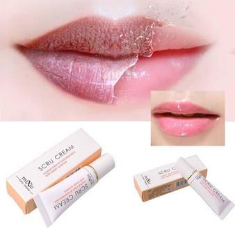 QueenLine 1pcs Protect Lips Moisturizing Full Lips Cosmetics Remove Dead Skin Brand Lip Care Exfoliating Lip Scrub Pink  Tool