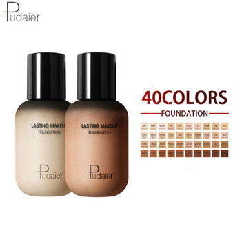 QueenLine Pudaier Face Foundation Makeup Liquid Foundation Cream Matte Foundation Base Face Concealer Cosmetic Dropshipping Makeup
