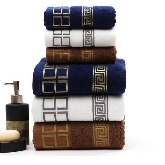 QueenLine  Bath Towels for Adults 100% Cotton 70x140cm Women Bathroom Super Absorbent Washcloths Towel Wrap Dress