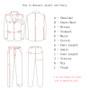 QueenLine 2 pieces Blue Formal Men Suit Slim Fit Single Breast Mens Suits Bespoke Groom Tuxedo Blazer for Wedding Prom Jacket Pants terno