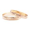 14K Hawaiian Diamond Kahiawa Bracelet - 1 Row