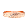 14K Hawaiian Diamond Kahiawa Bracelet - 2 Row