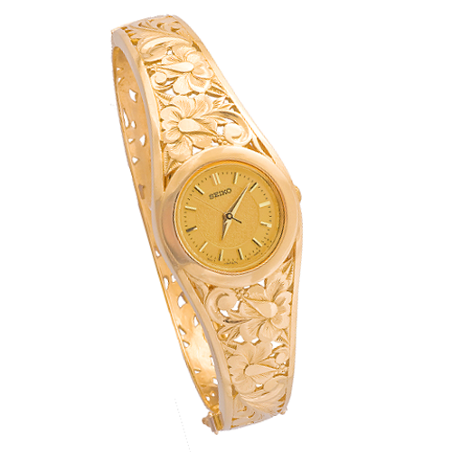 14K Hawaiian Watch - Leihaku