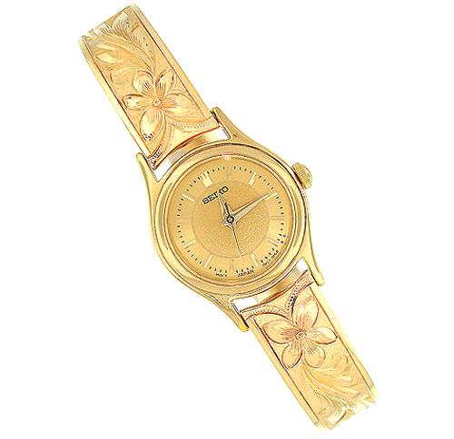 14K Hawaiian Watch - Walea