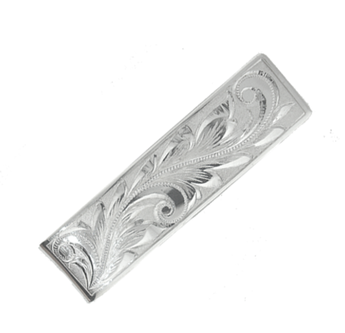 Sterling Silver Hawaiian Money Clip - 12mm
