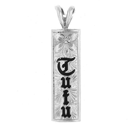 Sterling Silver Hawaiian Pendant - Grandma Tutu