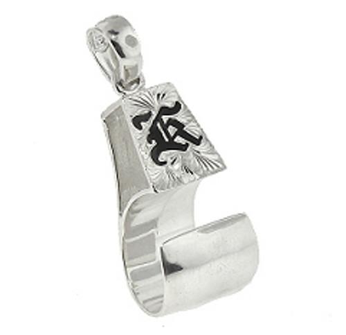 Sterling Silver Hawaiian Pendant - Palaoa