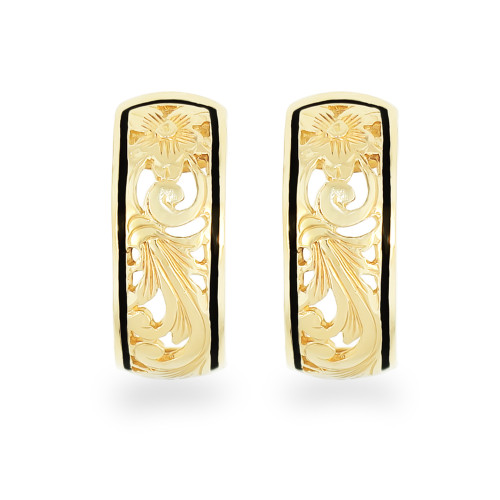 14K Hawaiian Anuhea Earrings 8mm