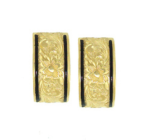 14K Heirloom Kahea Earrings - 10mm