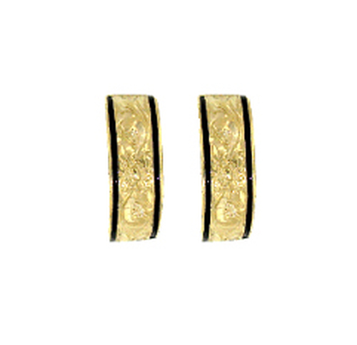14K Heirloom Kahea Earrings - 6mm