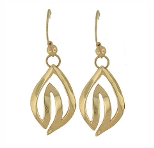 14K Henohea Earrings (Miss Aloha Hula 2009)