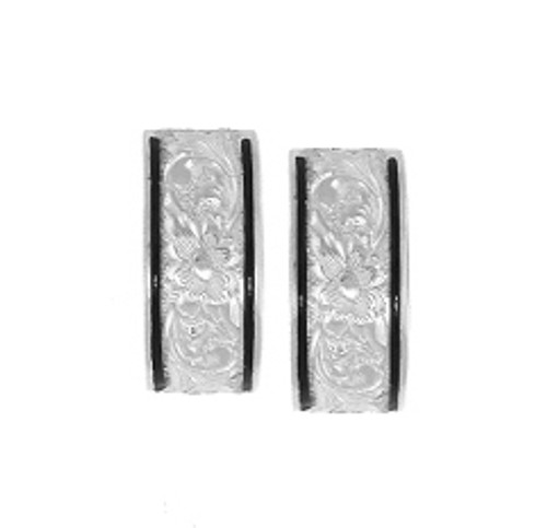 Sterling Silver Heirloom Kahea Earrings - 8mm