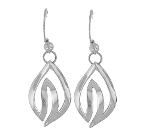 Sterling Silver Henohea Earrings (Miss Aloha Hula 2009)