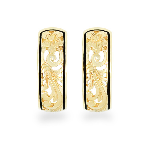 14K Hawaiian Anuhea Earrings 6mm