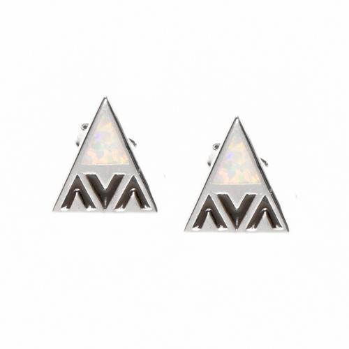 Sterling Silver 'Aina Collection Mauna Kea Earrings