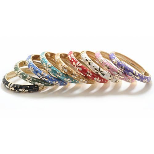 Enamel Fashion Bracelet -  Tiare