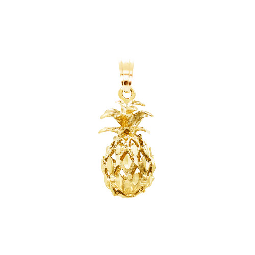 14K Pineapple Pendant