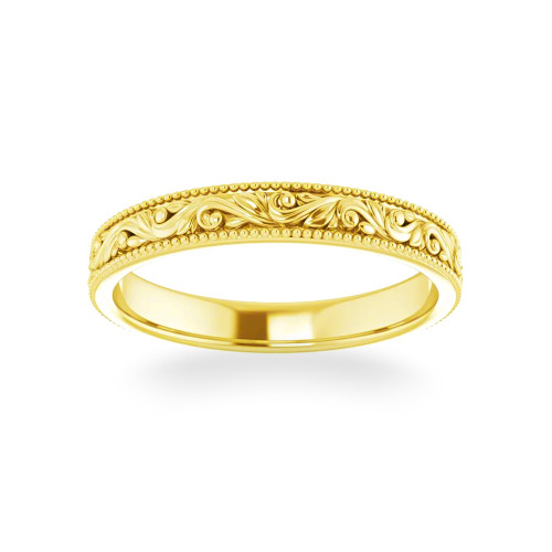 14K Hawaiian Ring Alamea
