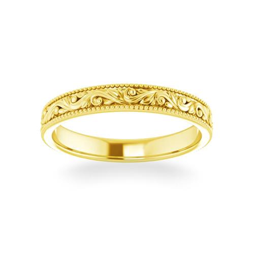 14K Hawaiian Ring Alamea