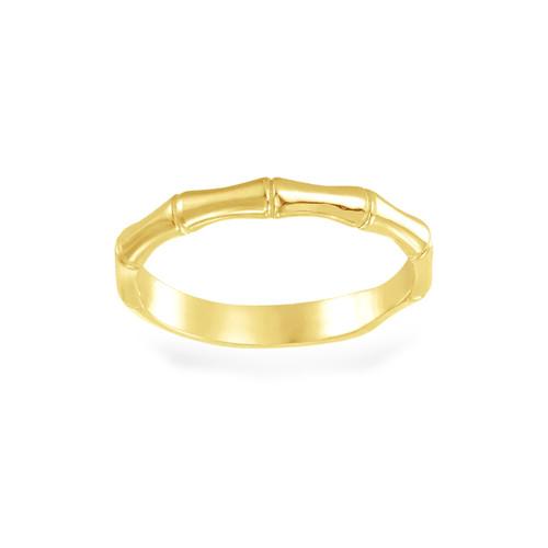 14K  Bamboo Ring
