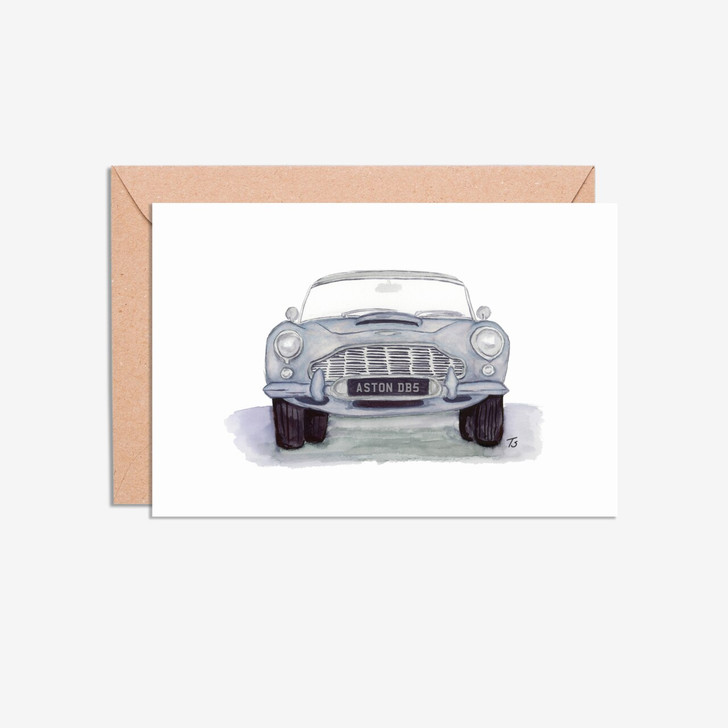 A6 Classic Car Illustration Cards Mixed Pack