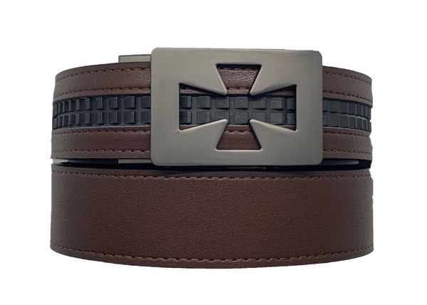 REVERB- Reversible Belt with Ventura Gunmetal Buckle